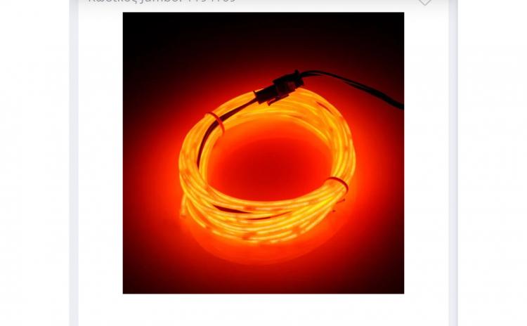 Banda Led Neon Orange - 3 m