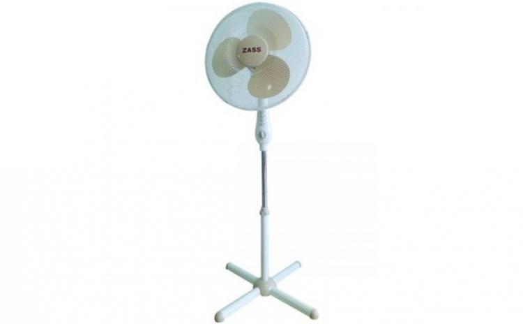 Imagine indisponibila pentru Ventilator cu picior Zass ZFT 1602, 50W, 3 viteze, timer, 41cm diametru, Alb