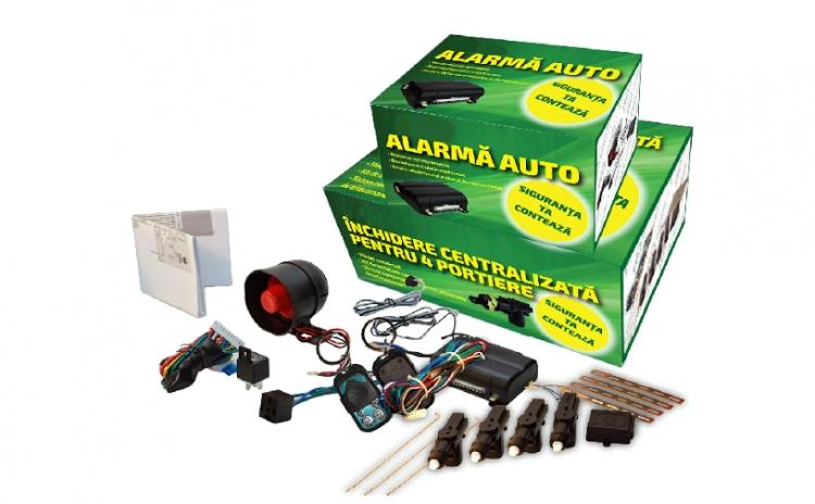 Echipeaza-ti Masina Cu Un Sistem Eficient De Securitate: Alarma Auto Cu Inchidere Centralizata, Cu Doar 170 Ron In Loc De 358 Ron