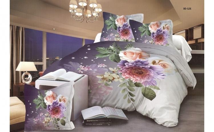 Lenjerie de pat 3d pentru 2 persoane