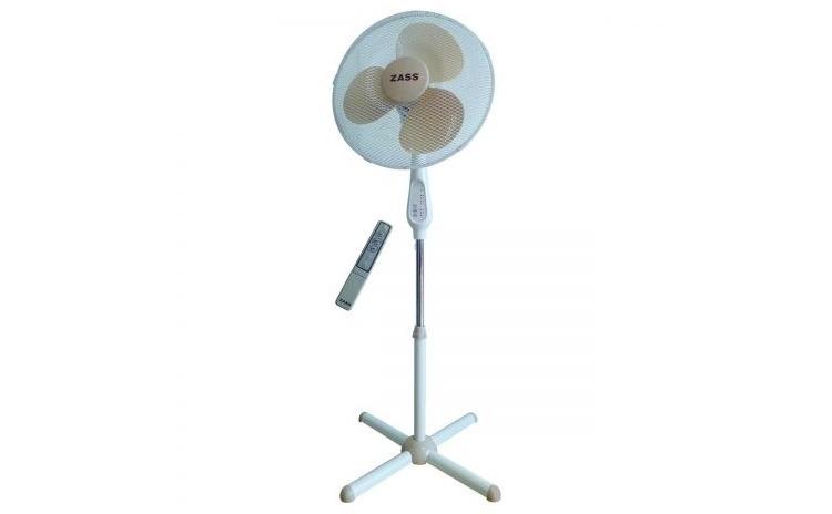 Imagine indisponibila pentru Ventilator cu picior Zass ZFTR 1603, 50 W, 3 viteze, 41cm diametru, oscilare, telecomanda, Alb
