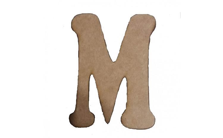 Litera M Mdf 120x100x3 mm