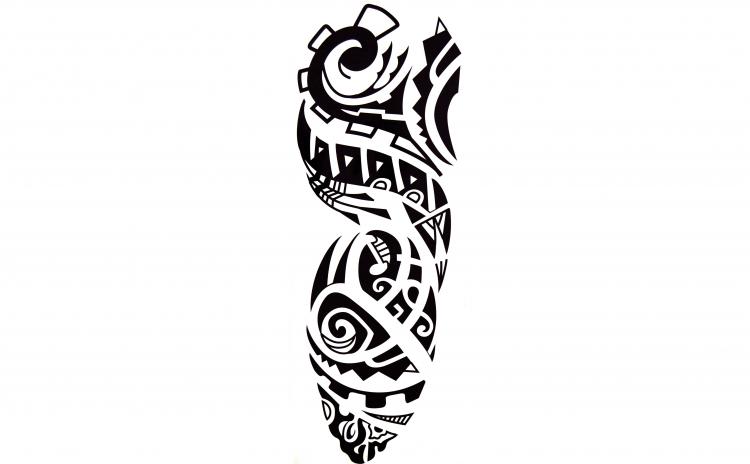 Tatuaj temporar mana, tribal, QB033