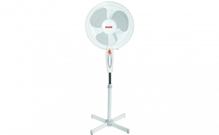 Imagine indisponibila pentru Ventilator cu picior Zass ZF 1605, 41cm diametru, 45 W, Motor silentios si puternic, Culoare Alb