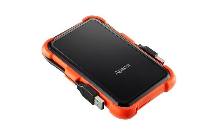Hard disk 2.5   2TB USB 3.1, orange,