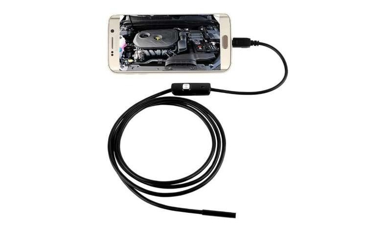 Camera Endoscop, Inspectie Android - USB