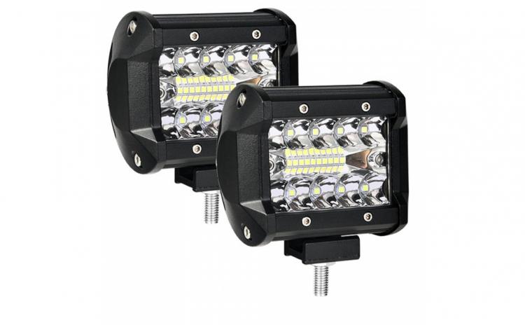 Set 2 x Proiectoare auto LED 4 inch 60W