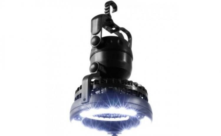 Imagine indisponibila pentru Lampa cu ventilator pentru excursii si drumetii, acum la doar 79 RON in loc de 169 RON