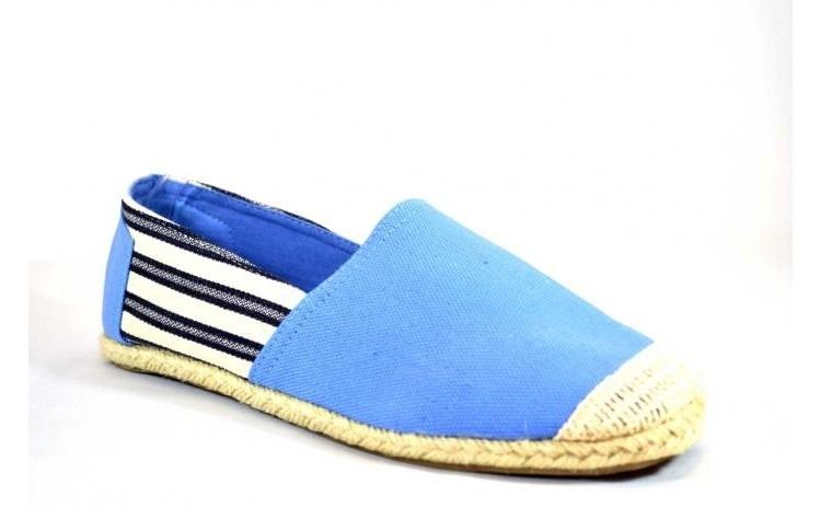 Espadrile barbatesti bleu Vintage