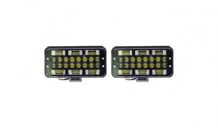 Set 2 proiectoare LED, 198W
