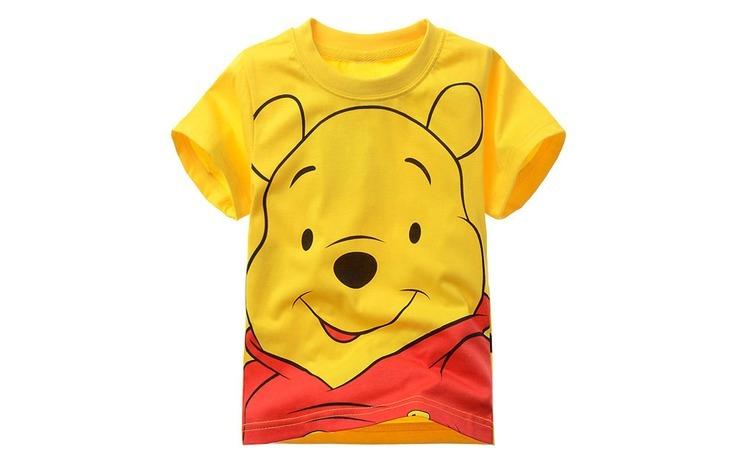 Tricou bumbac, copii, unisex, Winnie the Pooh, 98-104 cm, 3-4 ani