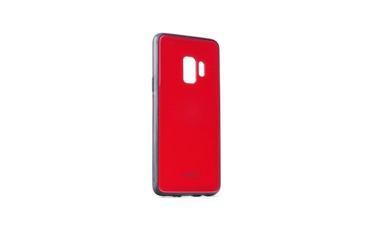 Husa Glass Case -Samsung S9, Rosu