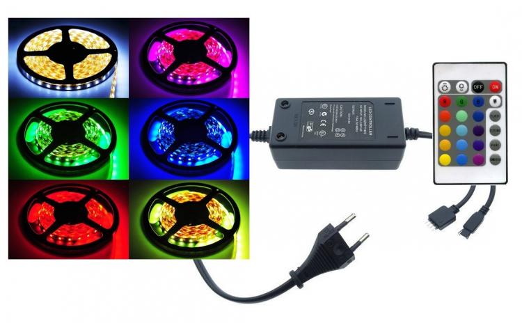 Banda RGB LED - 5 m