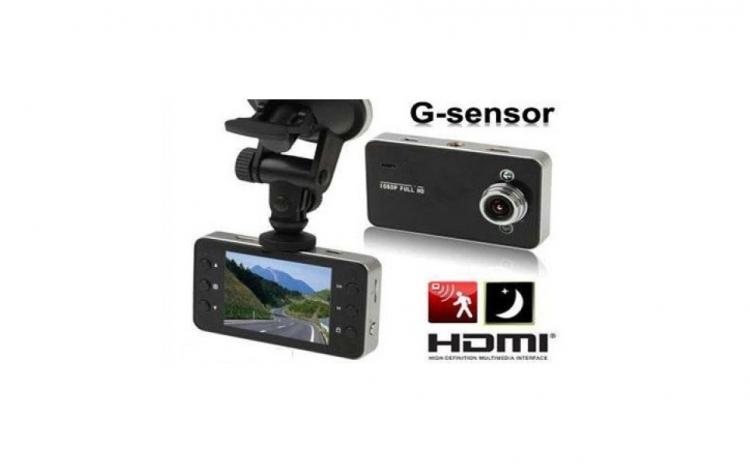 Camera auto audio-video K6000 FULL HD