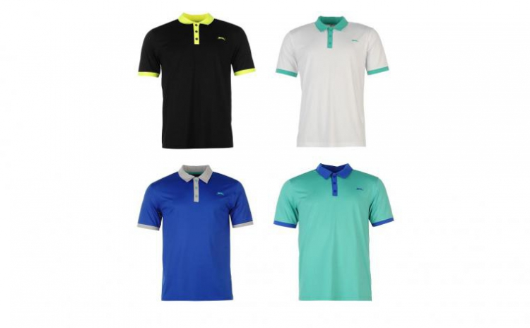Tricou barbati Slazenger Polo Premium la doar 129 RON