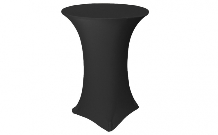 Husa masa cocktail negru