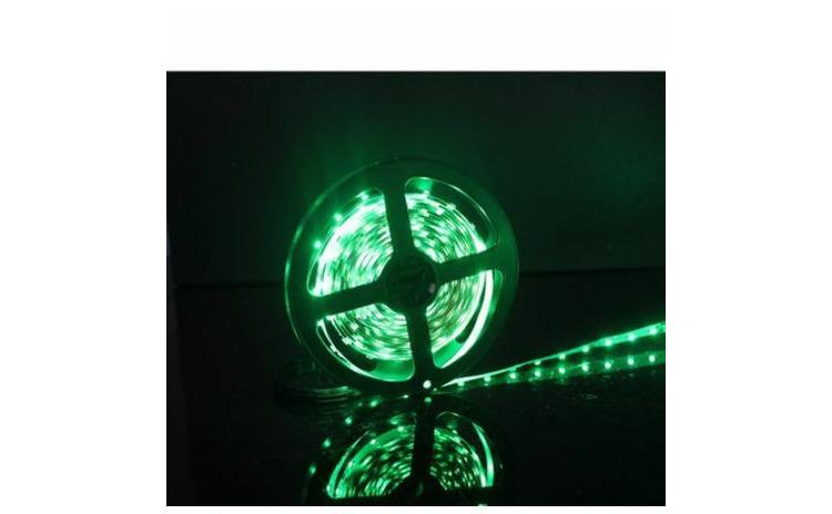 Banda LED IP20, 5m, Verde