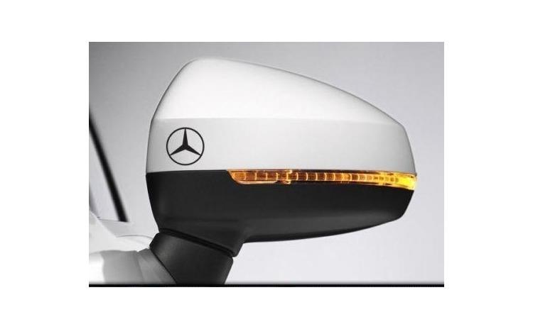 Sticker oglinda Mercedes (set 2 buc.)