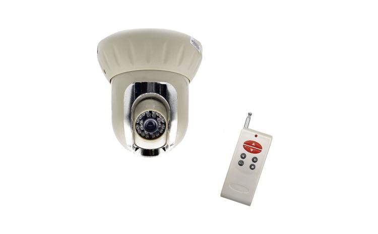 Camera de supraveghere rotativa, tip dom