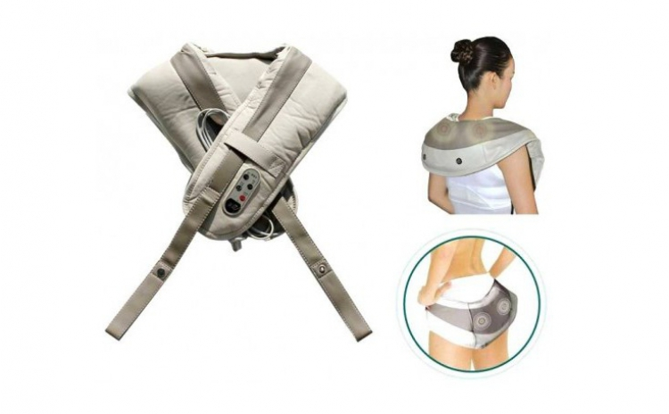 Aparat masaj anti-dureri gat umeri cervical spate