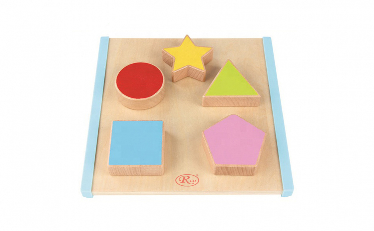 Puzzle 3D Montessori WD2070