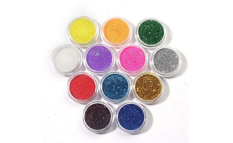 Sclipici glitter pentru unghii