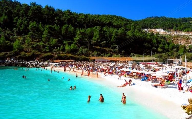 Αποτέλεσμα εικόνας για thassos beach