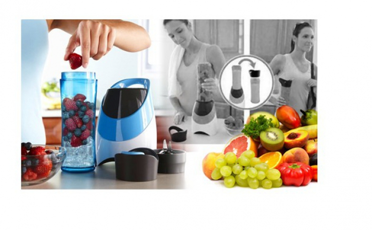Asigurati-va Aportul De Proteine Si Vitamine Din Shake-uri, Cu Ajutorul Blenderului, La Doar 139 Ron In Loc De 299 Ron