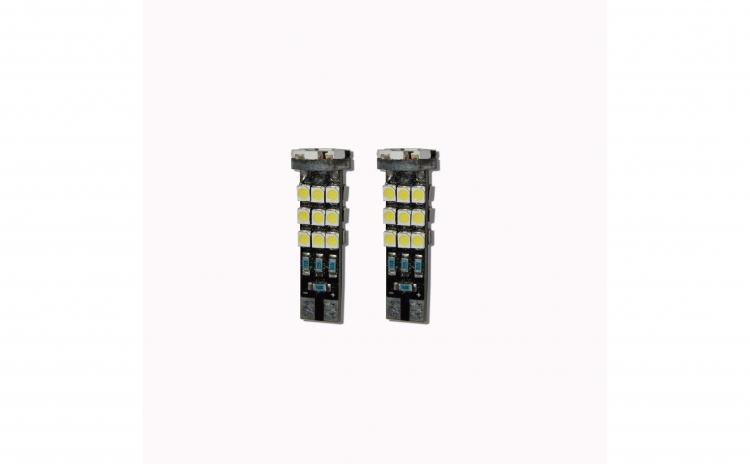 Set 2 x becuri led bulb T10 W5W 24 SMD
