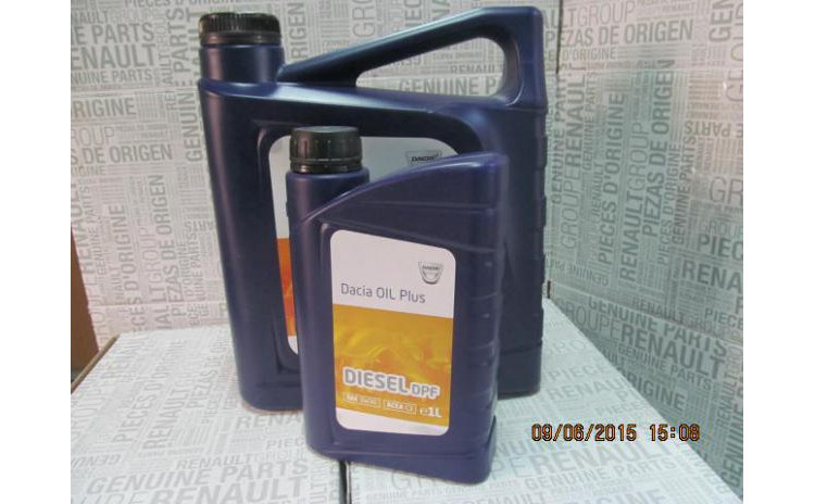 ULEI Motor 5W30 DPF Dacia Oil PLUS