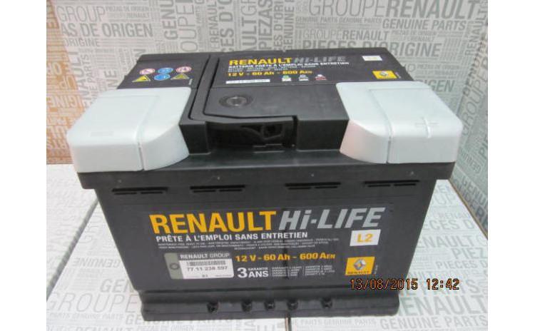 Baterie auto 60 Ah 600 A(EN) 12V