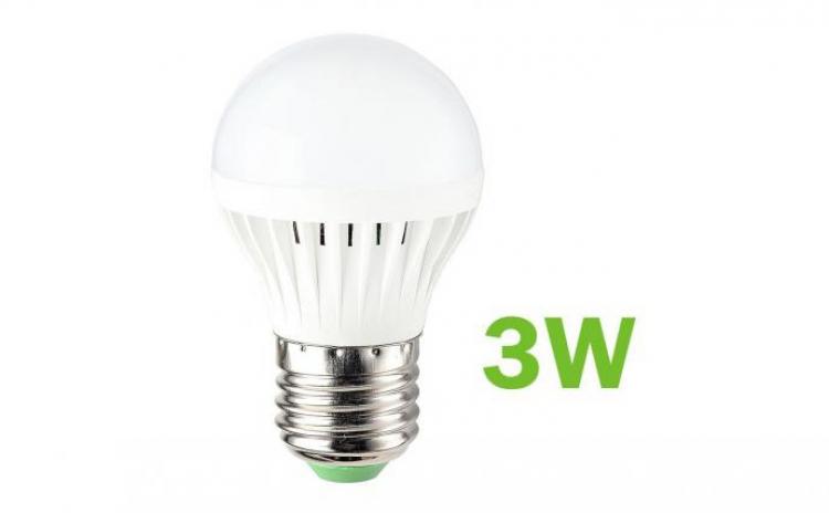 Bec LED SMD 3W economic dulie E27