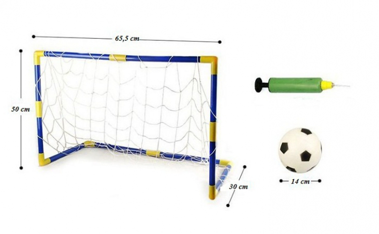 Reduceri Jucarii de exterior – 43 % Reducere – Pret Set de 2 Mini Porti fotbal + 2 mingi