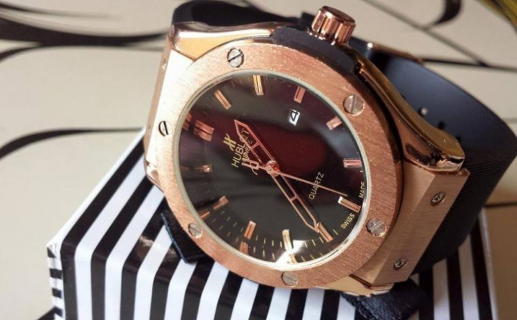 Ceas Hublot Black Gold, La 199 Ron In Loc De 348 Ron
