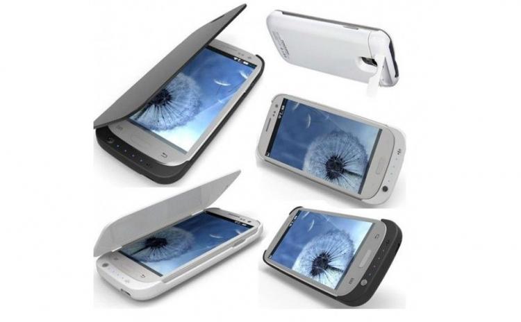 Imagine indisponibila pentru Husa Samsung Galaxy S4/i9500 cu baterie externa de 4000 mAh,design modern/slim, la doar 110 ron in loc de 230 ron