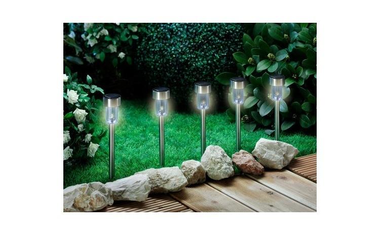 Set Lampi Solare.Set De 5 Lampi Cu Incarcare Solara Pentru Gradina Arhivat