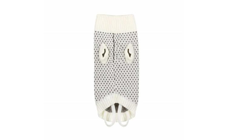 Pulover tricotat Pufo pentru caini,