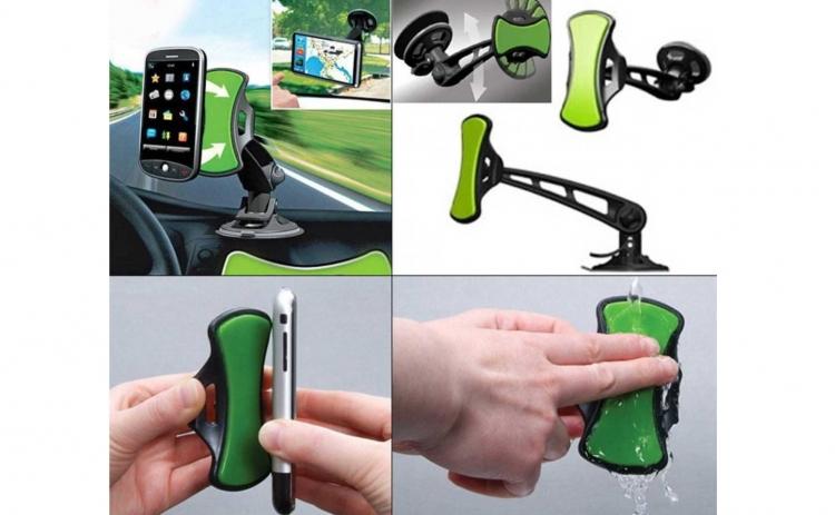 Suport auto pentru telefon mobil sau GPS, la doar 15 RON in loc de 35 RON