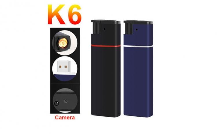 Bricheta cu Mini camera spion HD K6