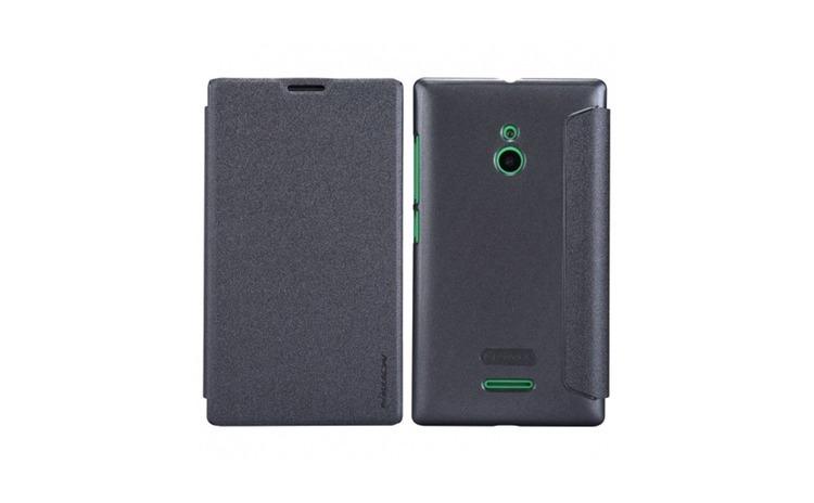 Husa Nokia XL Dual Nillkin Sparkle Flip