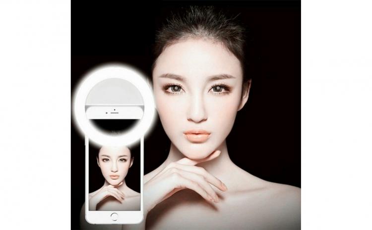 Lampa LED selfie pentru telefon