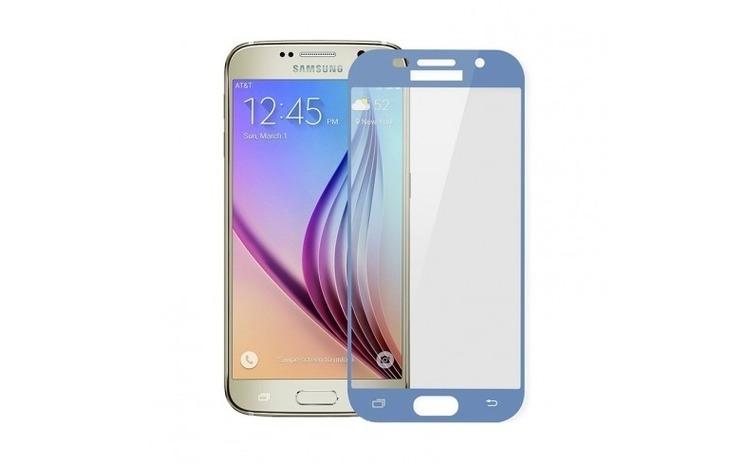 Folie Sticla Samsung Galaxy A5 2017 Flippy 5D Albastru