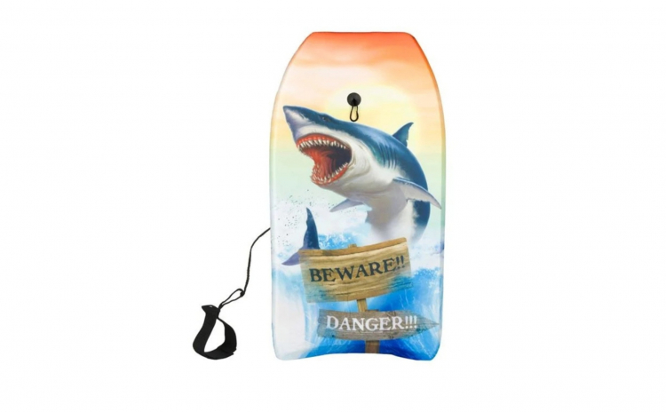 Placa surf/inot pentru copii, rechin