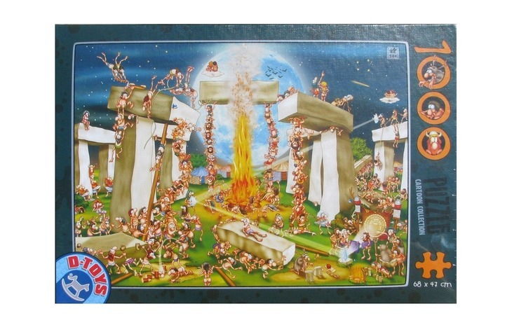 Puzzle D-Toys 1000 piese -carton