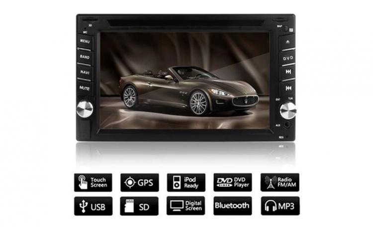CD-DVD - player auto cu GPS