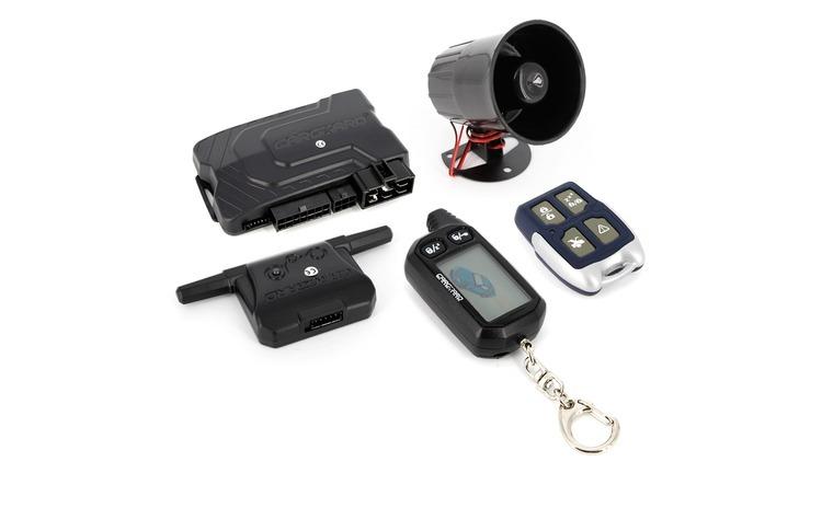 Alarma auto Carguard G2500, cu pornire