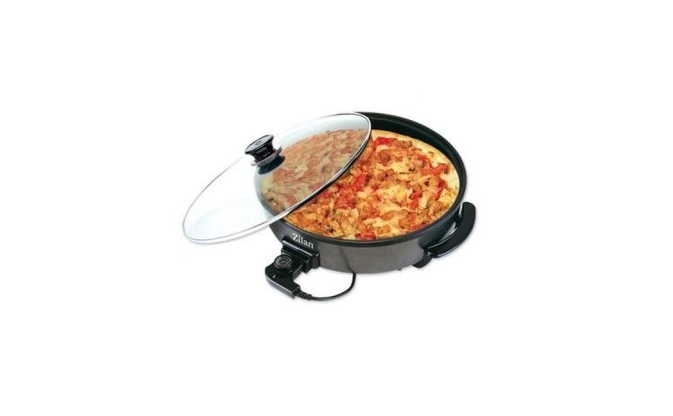 Tigaie electrica pentru pizza Zilan 7870