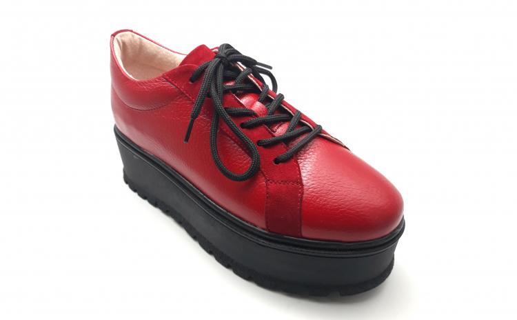 Pantofi dama cu siret