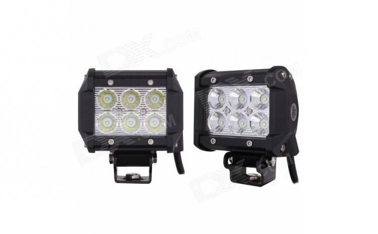 Set proiector LED 18w