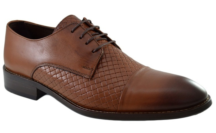 Pantofi Maro Barbati, model Impletit din